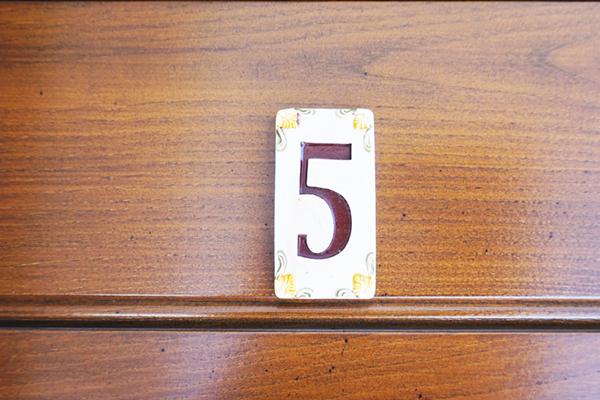 Tasto - Appartamento Cinque - Casa di Gino